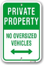 No Parking signs, Authorized Parking signs, Custom and Stock,Toronto