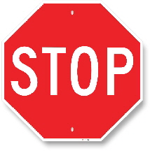 1st001 stop sign by all signs co
