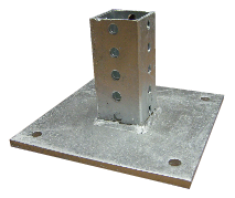Sign Post Mounting Flanges
