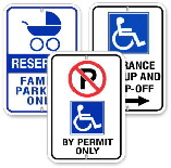Hadicap Parking Signs