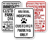 Customer Parking Only Signs, City of Toronto Muncipal Code Chapter 915