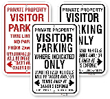 Visitor Parking Only Signs, City of Toronto Muncipal Code Chapter 915