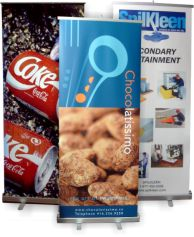 Out-Door Banners and In Door Retractable Banner Stands