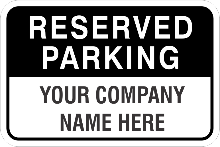 reserved parking signs custom and stock employee by permit family maternity. Black Bedroom Furniture Sets. Home Design Ideas